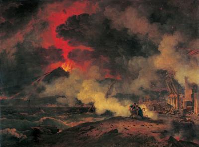 L eruption du vesuve pierre henry de valenciennes 1813
