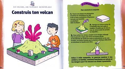 Maquette volcan
